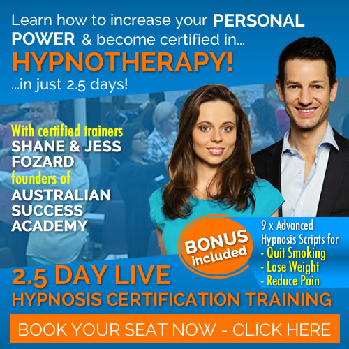 The 4 Stages of Hypnosis - Australian Success Academy