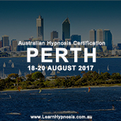 Hypnosis Certification - Perth Aug 2017