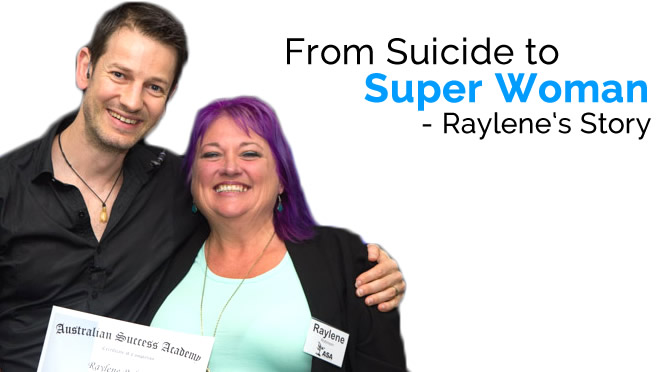 From Suicide To Super Woman