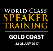 World Class Speaker Training